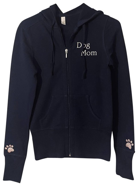 Item - Dog Mom Navy Blue Fitted Jacket Size 4 (S)