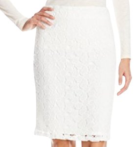 Calvin Klein Skirt Soft White