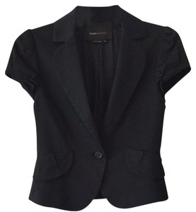 BCBGMAXAZRIA Short Sleeves Professinal Bcbg Black Blazer