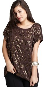 Michael by Michael Kors Top Gold