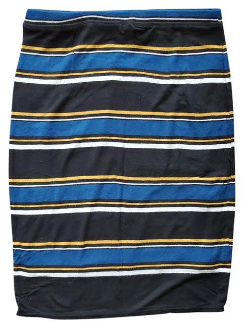 Item - Multicolor XS Striped Pencil Skirt Size 0 (XS, 25)