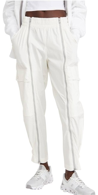 Item - White Perfect Track Activewear Bottoms Size 8 (M, 29, 30)