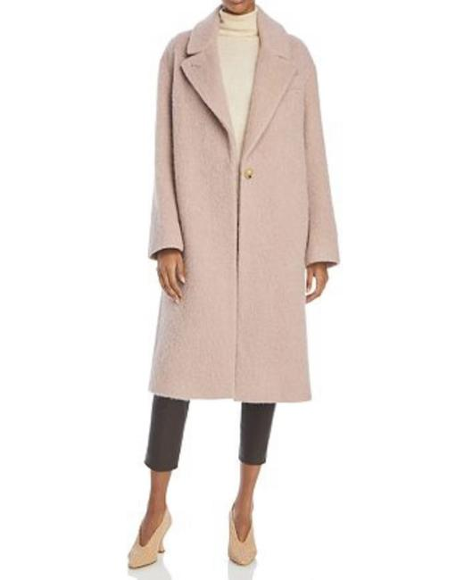 Item - Pink Textured Wool Dusty Rose Coat Size 12 (L)