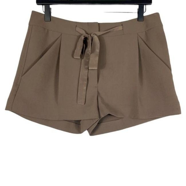 Item - Brown Gray Exergue Ribbon-tie Shorts Size 6 (S, 28)