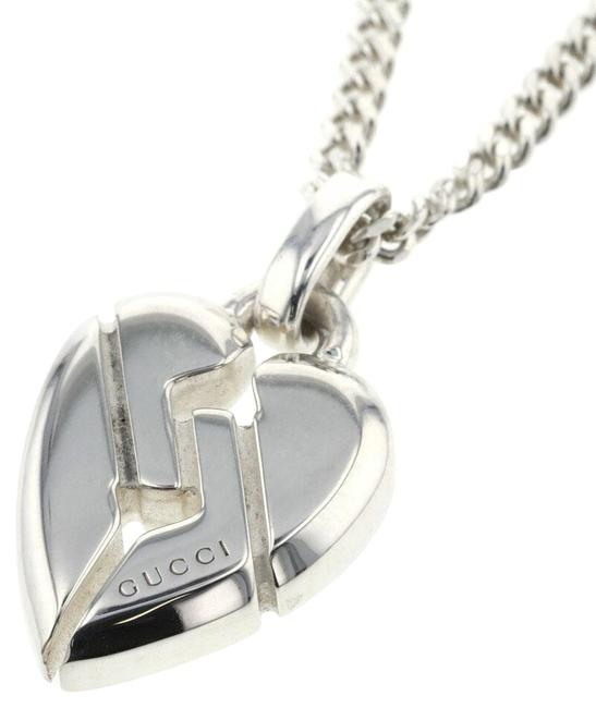 Item - Silver Knot Heart 925 Ladies Necklace