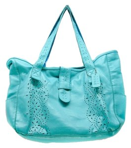 Blue Buco Tote in Turquoise