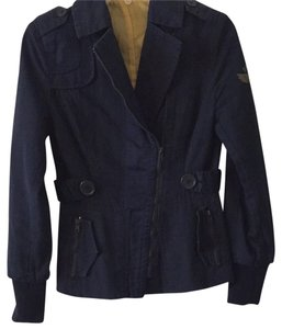 DKNY Daily Causal Navy Blue Jacket
