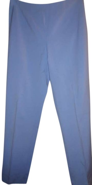 Leggiadro Straight Pants Blue