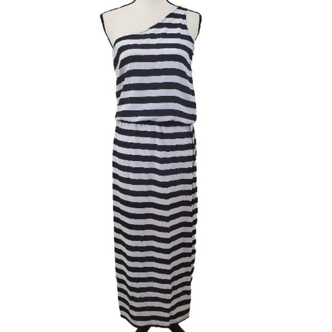 Item - White Nwot Silk One Shoulder Beach Maxi Cover-up/Sarong Size 4 (S)