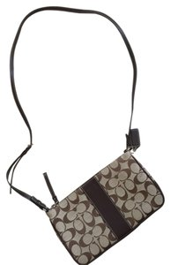 Coach Fabric Signature Classic Cross Body Bag