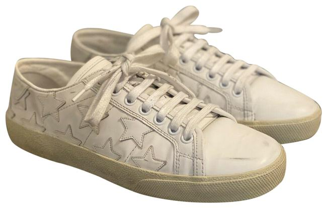 Item - White Sl/06 Court Classic Stars Leather Sneakers Size EU 36 (Approx. US 6) Regular (M, B)