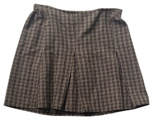 Brandy Melville Skirt Beige Plaid