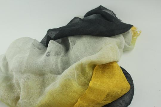 Other Silky Gradient Linen Scarf Multicolor MISCTL01