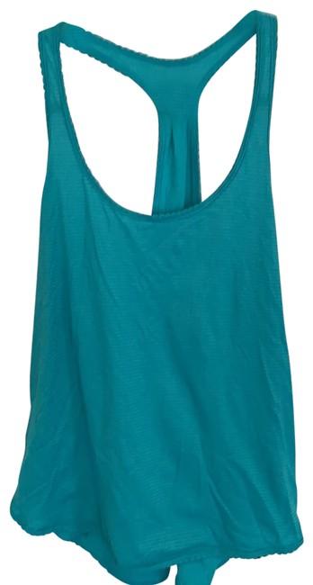 Item - Turquoise Workout Tank Activewear Top Size 8 (M)