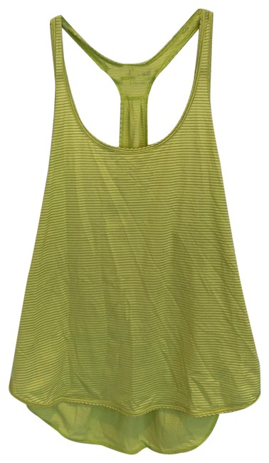 Item - Chartreuse Workout Tank Activewear Top Size 8 (M)