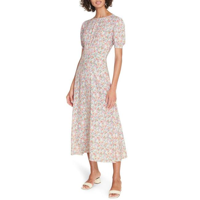 Item - Pink Beline Floral Small Casual Maxi Dress Size 4 (S)