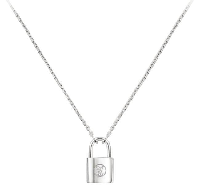 Item - Silver Lockit Q93559 Pendant Sterling Necklace