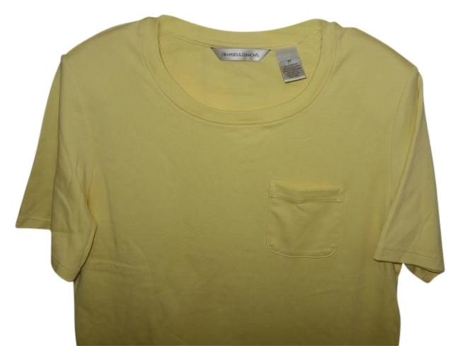 Draper's and Damon's T Shirt YELLOW