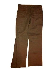 London Jean Wide Leg Pants Dark brown