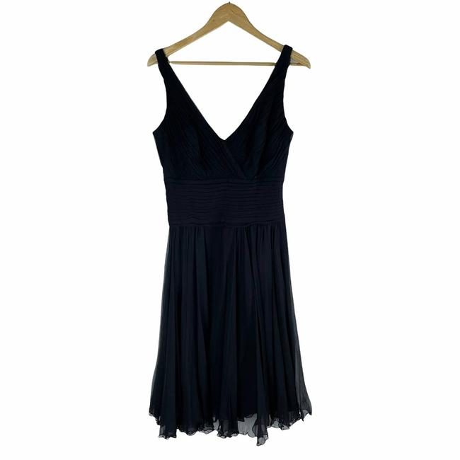 Item - Black Collection Silk Cocktail Short Casual Dress Size 10 (M)