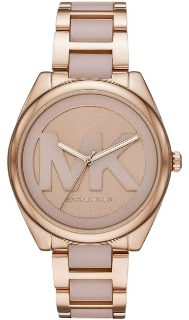 Item - Gold Rose Mk7135 Janelle Three-hand Two-tone Stainless Steel Watch