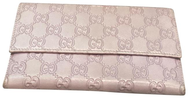 Item - Lilac Continental Flap sima Leather Long Wallet