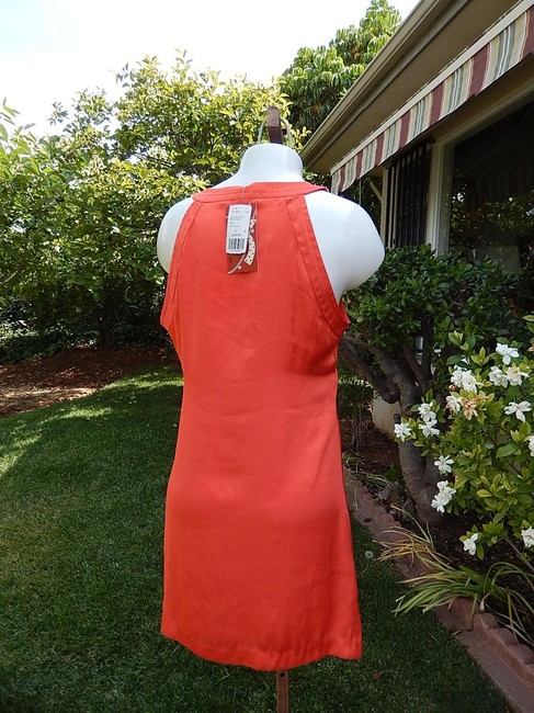 Forever 21 short dress coral New With Tags Size L on Tradesy