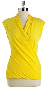 Vince Camuto Top Canary Yellow
