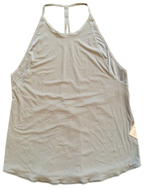Item - Blue Grey Inner Current Tank Activewear Top Size 10 (M)