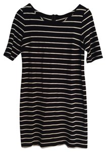 Banana Republic short dress Navy & White Stripe on Tradesy