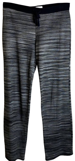 Item - Black Space Dye Straight Leg Womens Small Activewear Bottoms Size 6 (S, 28)