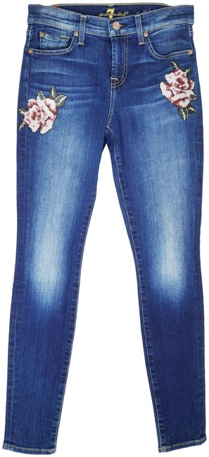 Item - Liberty The with Patches Skinny Jeans Size 26 (2, XS)