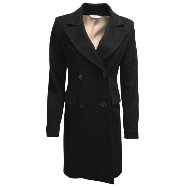 Item - Black Double Breasted Cashmere Coat Size 8 (M)