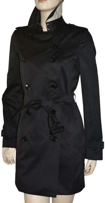 Item - Black Harbourne Double Breasted Coat Size 12 (L)