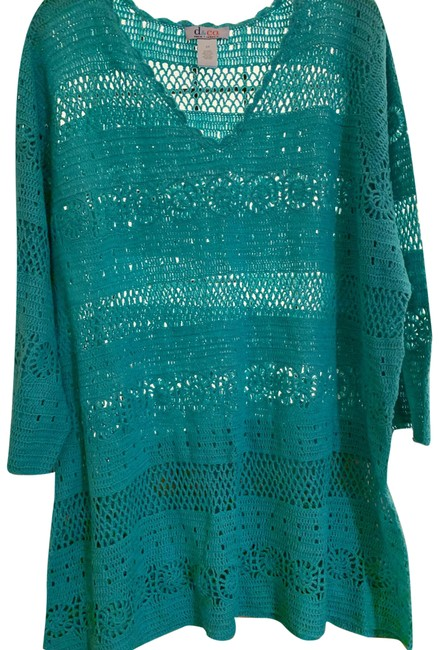 Item - Comfy Knit Green Sweater
