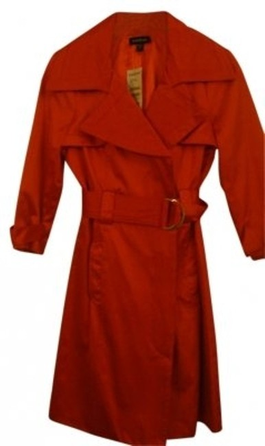 Preload https://item2.tradesy.com/images/bebe-red-belted-trench-coat-size-0-xs-29811-0-0.jpg?width=400&height=650