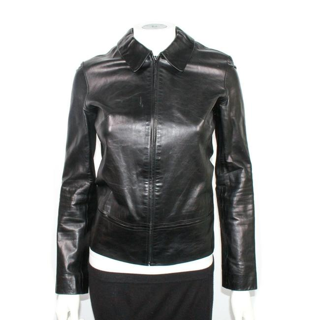 Item - Black Chanel - Silk Dress Pants with Cc Logo Silver Tone Buttons - Us 2 Jacket Size 4 (S)