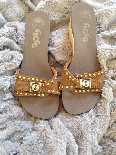 Flogg Tan/Brown Sandals