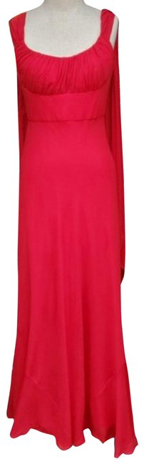 Item - Red Long Formal Dress Size 4 (S)