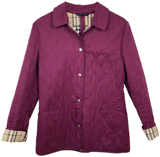 Item - Pink Fuschia Quilted Jacket Size 2 (XS)