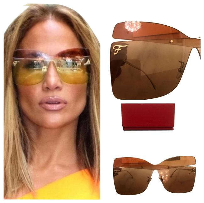 Item - Red Orange Butterfly Sunglasses