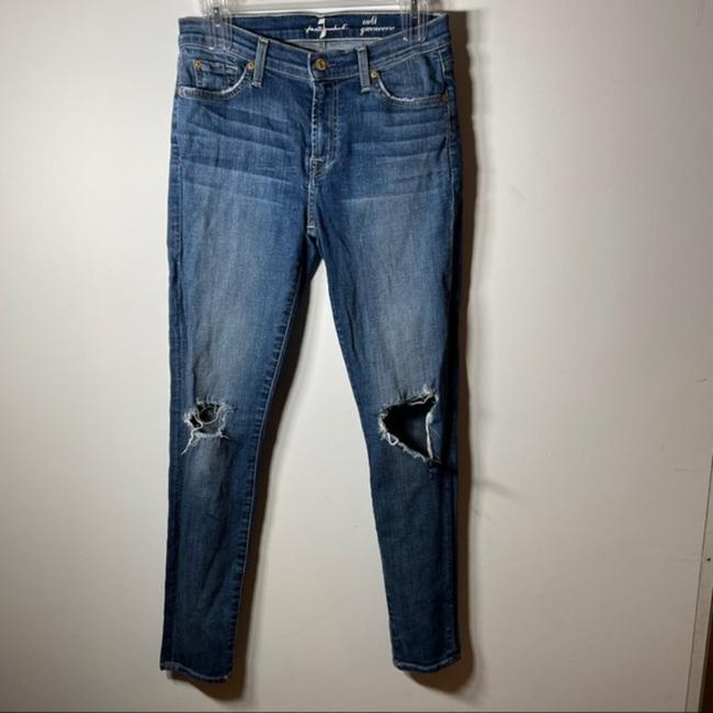 Item - Blue Medium Wash Ankle Gwenevere Skinny Jeans Size 28 (4, S)
