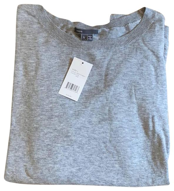 Item - And Black Light Weight Gray Sweater