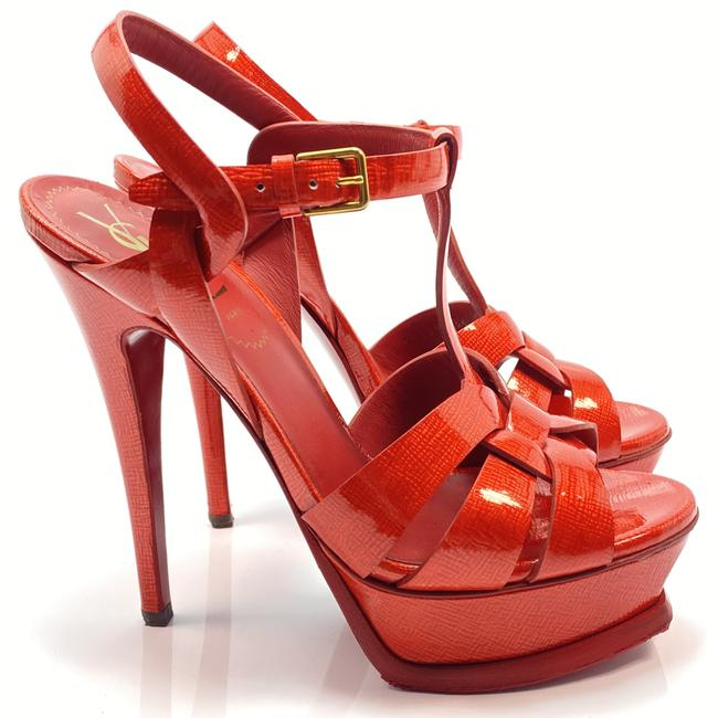 Item - Red Tribute Ysl Yves Pumps Sandals Size EU 36 (Approx. US 6) Regular (M, B)
