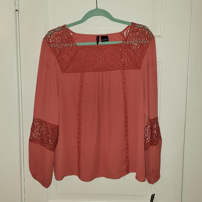 Item - Coral Unknown Blouse Size 4 (S)