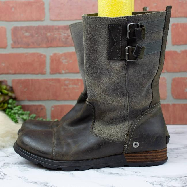 Item - Gray Gray/Grill/Quarry Pull-on Major Boots/Booties Size US 10 Regular (M, B)