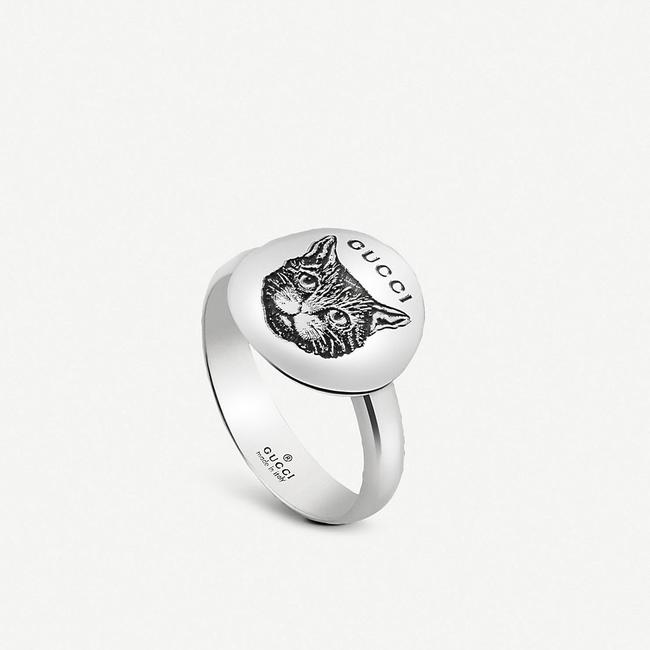 Item - Silver Blind For Love 925 Mystic Cat Ring