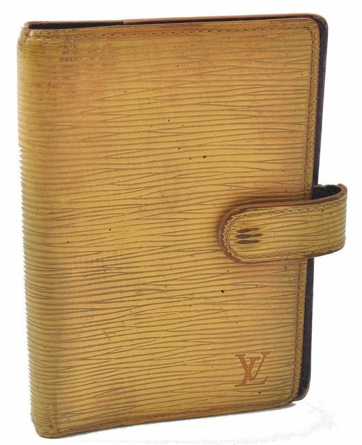 Item - Yellow Organizer Cover Wallet