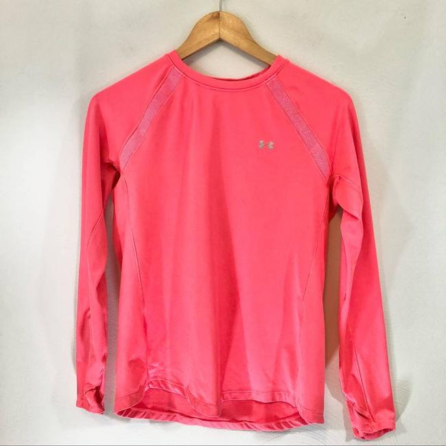 Item - Pink Neon Fitted Cold Gear Long Sleeve Women Large Activewear Top Size 12 (L)