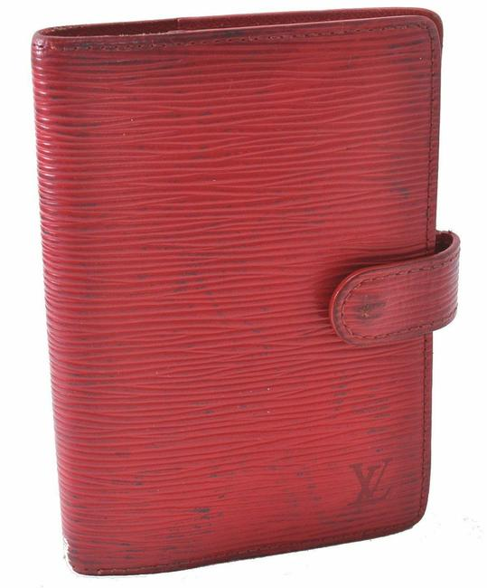 Item - Red Organizer Cover Wallet